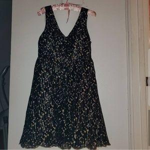 Sparkling black dress